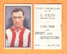 Sheffield United George Utley England